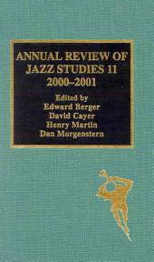 Annual Review of Jazz Studies 11, 2000-2001