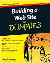 Building a Web Site For Dummies: Edition 4