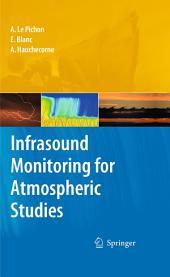 Infrasound Monitoring for Atmospheric Studies