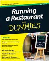 Running a Restaurant For Dummies: Edition 2