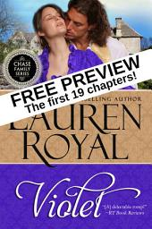 Violet: Free Preview — The First 19 Chapters (Chase Family Series)