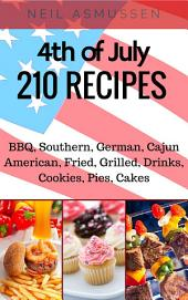 4th of July: 210 Recipes
