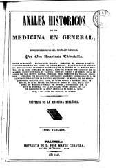 Anales históricos de la medicina en general: Historia de la medicina Española