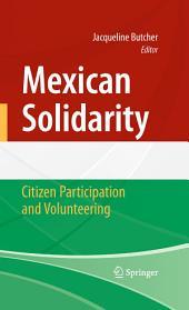Mexican Solidarity: Citizen Participation and Volunteering