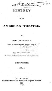 History of the American theatre