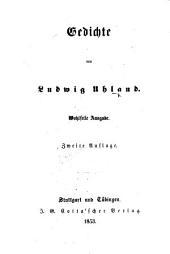 Gedichte ... Wohlfeile Ausgabe. Zweite Auflage