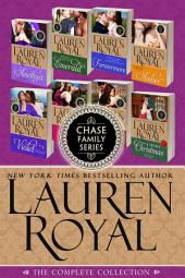 The Complete Chase Family Series: An 8-Book Historical Romance Boxed Set