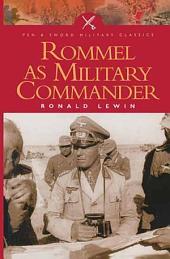 Rommel as Military Commander