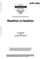Wealthier is Healthier: Issue 1150