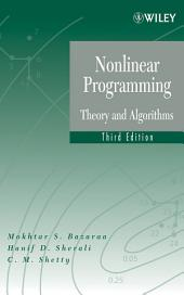 Nonlinear Programming: Theory and Algorithms, Edition 3