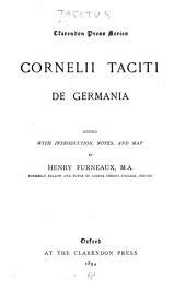 Cornelii Taciti De Germania