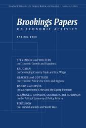 Brookings Papers on Economic Activity: Spring 2008