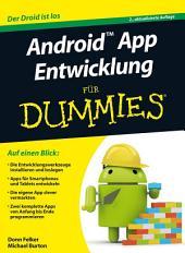 Android App Entwicklung für Dummies: Ausgabe 2