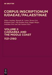 Caesarea and the Middle Coast: 1121-2160