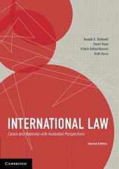 International Law: Cases and Materials with Australian Perspectives, Edition 2