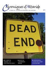 Chroniques d'Altaride n°5 Octobre 2012: La Mort