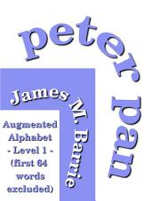 Peter Pan: (Peter and Wendy) Augmeted Alphabet Level-1