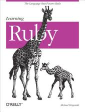 Learning Ruby