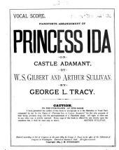 Princess Ida, Or, Castle Adamant