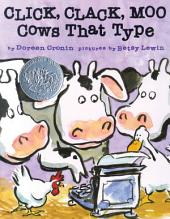 Click, Clack, Moo: Cows That Type (with audio recording)