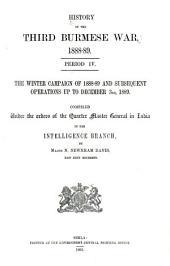 History of the Third Burmese War [1885-1891].