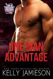 One Man Advantage: Heller Brothers Hockey Book 3