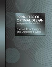 Principles of Optimal Design: Modeling and Computation, Edition 2