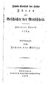 Ideen zur Geschichte der Menschheit: 1785