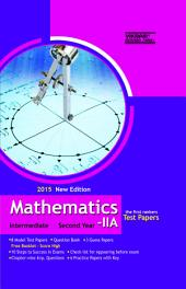 INTERMEDIATE II YEAR MATHS II A(English Medium) TEST PAPERS: Model papers, Practice papers, Important questions