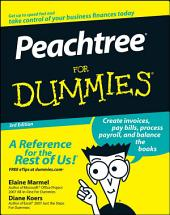 Peachtree For Dummies: Edition 3