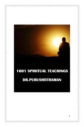 1001 Spiritual Teachings