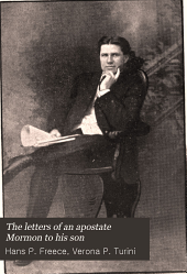 The letters of an apostate Mormon to his son