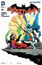 Batman (2011-) #40