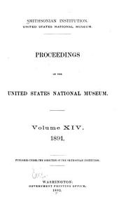 Proceedings of the United States National Museum: Volume 13
