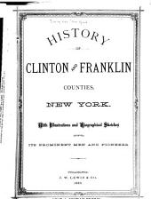 History of Clinton and Franklin Counties, New York