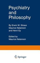 Psychiatry and Philosophy