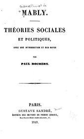 Théories sociales et politiques