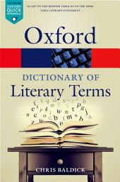 The Oxford Dictionary of Literary Terms: Edition 4