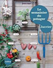 Le semainier du potager - Janvier