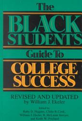 The Black Student's Guide to College Success