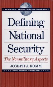 Defining National Security: The Nonmilitary Aspects