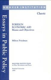 Foreign Economic Aid: Means and Objectives