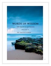Words of Wisdom (Volume 1): 1001 Quotes & Quotations