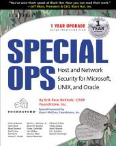 Special Ops: Host and Network Security for Microsoft Unix and Oracle: Host and Network Security for Microsoft Unix and Oracle