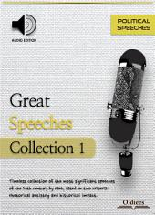 Great Speeches Collection 1 - AUDIO EDITION