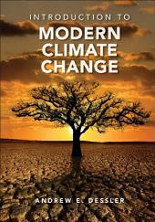 Introduction to Modern Climate Change