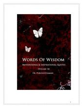 Words of Wisdom (Volume 14): 1001 Quotes & Quotations