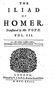 """The"" Iliad Of Homer"
