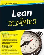 Lean For Dummies: Edition 2