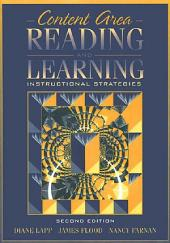 Content Area Reading and Learning: Instructional Strategies, Edition 2